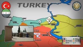 24 октября 2018. Военная обстановка в Сирии. Нападение протурецких сил на патруль США и курдов.