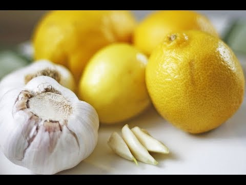 Lemon and garlic for weight loss 3 days diet to lose weight