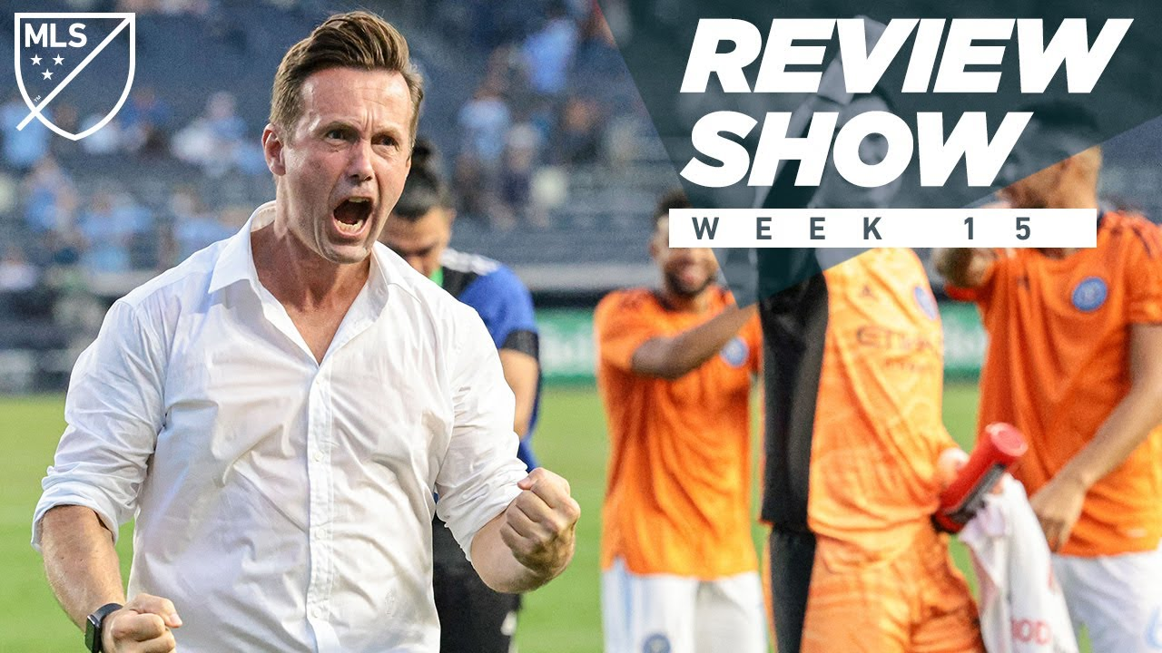 5 goals for NYCFC, Sporting Kansas City Win in Seattle   MLS Review Show
