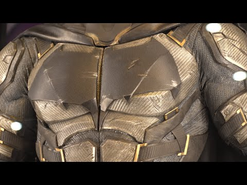 Up Close with the Justice League's New Armor - IGN Access