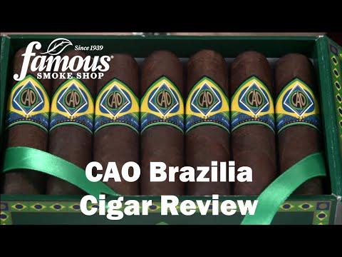 CAO Brazilia Cigars Review - Famous Smoke Shop