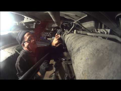 Замена подшипника хвостовика УАЗ Патриот и замена шкворней