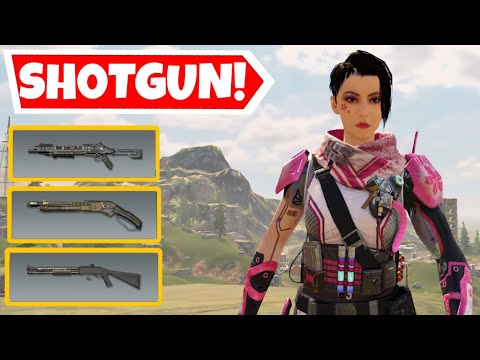 SHOTGUN ONLY CHALLENGE IN CALL OF DUTY MOBILE BATTLE ROYALE *GONE WRONG*