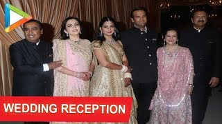 Isha Ambani and Anand Piramal Royal Wedding Reception at Jio Garden with many Celebs