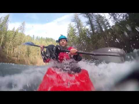 New Years Eve Washougal White Water Kayaking MP5 to Hathaway 7.75 ft.