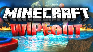 Minecraft Wipeout! TOTAL WIPEOUT (1.8 Parkour Map)