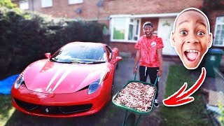 I Bought A FERRARI With PENNIES ($350,000)