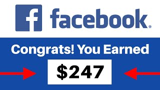 EARN $247 PER DAY From FACEBOOK WATCH *New Method* (Make Money Online)