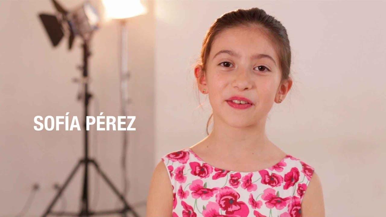 Videobook para actores Sofía Pérez
