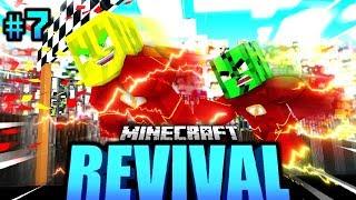 1.000.000 km/h WELTREKORD GEKNACKT?! - Minecraft REVIVAL #07 [Deutsch/HD]
