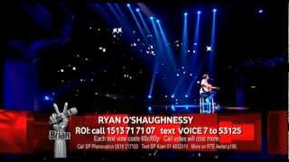 Ryan O'Shaughnessy - Baby - Live Show 1,Team Brian