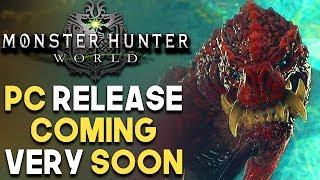 Monster Hunter World PC Coming VERY SOON! Requirements are HIGH and NEW Steam Competitor?!