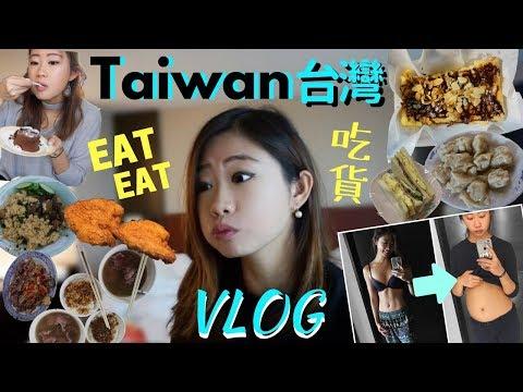 【TAIWAN 台灣 VLOG】What I Eat on Vacation? YUMMIEST CHEAT MEALS 高雄台南美食吃貨之旅! 吃太多病倒了?!