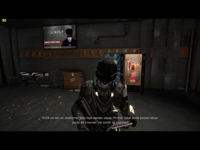 Deus Ex: Mankind Divided gtx 1080 ftw fraps on