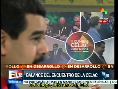 Telesur interviews Venezuelan President Nicolas Maduro