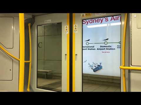 International Airport - Mascot, T8 Airport & South Line, Sydney