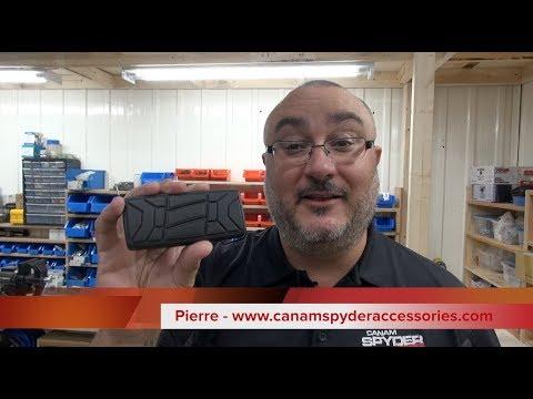 Installation Full size Brake pedal - CanAmSpyderAccessories.com
