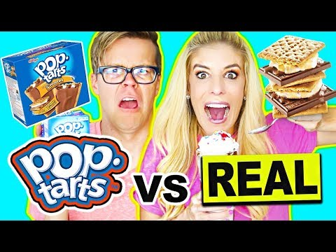 poptarts-vs-real-food-challenge-(giant-smoothie)-real-food-vs-gummy-food