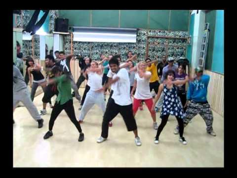 Longinus choreographer of Jai Ho