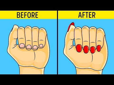 How to make your nails grow fast