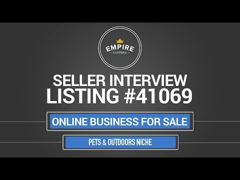 Online Business For Sale - $5.1K/month in the Pets & Outdoors Niche