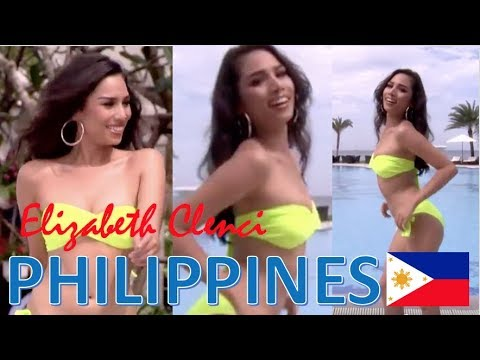 Miss Grand International 2017: MISS PHILIPPINES Elizabeth Clenci SWIMSUIT OVERALL PERFORMANCE (HD)