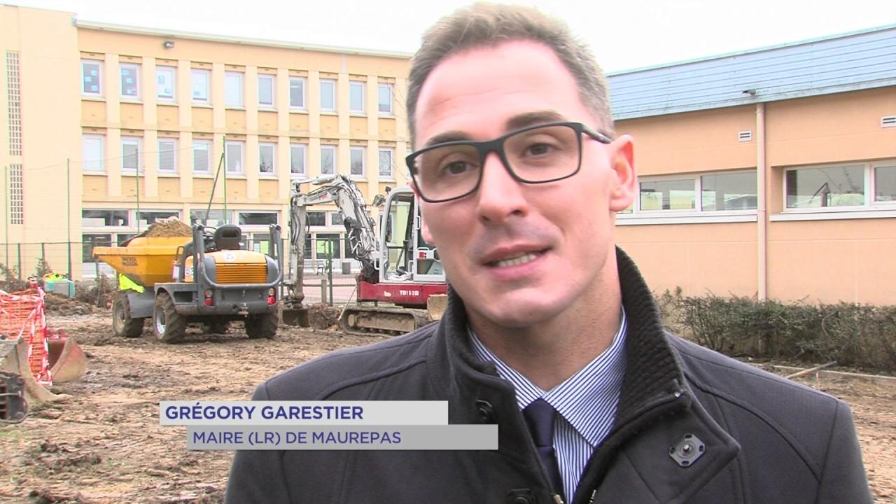 Maurepas : Réaménagement du square Beaufortin