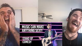 Music Can Make Anything Sexy - Stand Up Comedy by Kenny Sebastian REACTION!!
