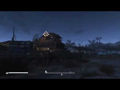 Fallout 4 - Part 5 - Settlement Building - Clinic/Hospital (Light Boxes Used)