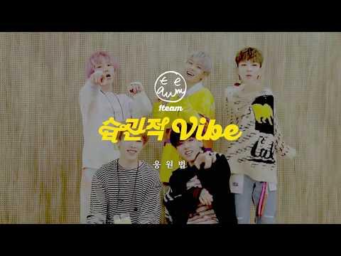 "1TEAM(원팀) - ""습관적 VIBE"" 공식 응원법"