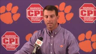 TigerNet.com - Swinney on if Wayne Gallman and Artavis Scott are ready to turn pro early