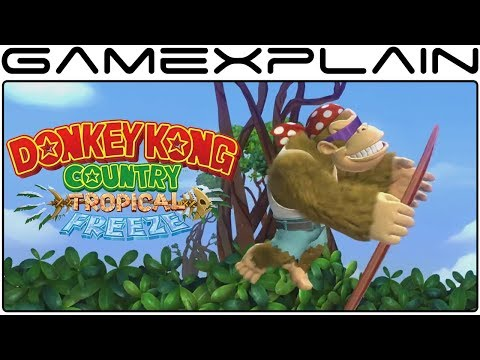 Download Youtube: Playable Funky Kong Comes to DKCR: Tropical Freeze on Switch - Reveal Trailer (Direct Jan 2018)
