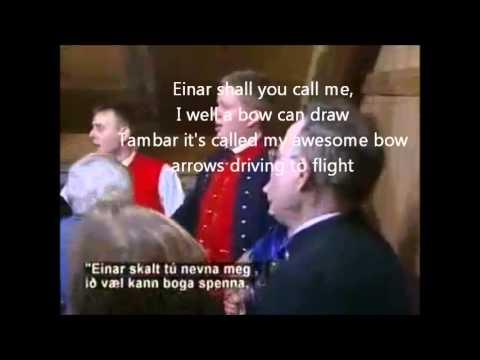 Ormurin Lange - Folklore - English translation