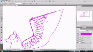 How to draw Angel / Feather Wings