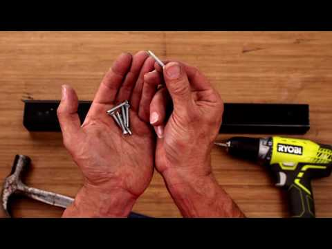 How To Screw Into Metal - Drilling Tips - D.I.Y. At Bunnings