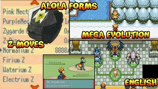 Completed Pokemon Gba Rom Hack With Z-Moves,ALOLA Forms, Mega Evolution,Gen 7||Gameplay + Download||