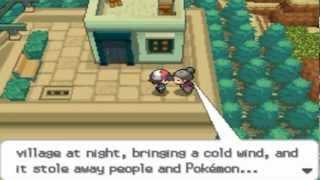 Pokémon Black and White Walkthrough episode 79 - Lacunosa Town - Scary Monster?