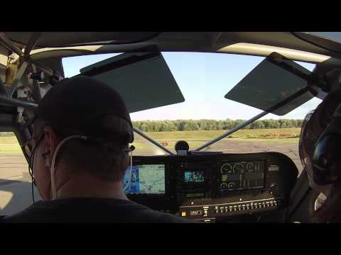 Aborted take-off from Brainard Airport
