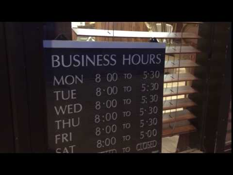 FAQ 1 Opening Hours