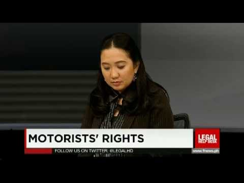 Legal Help Desk Episode 116: Motorists' Rights