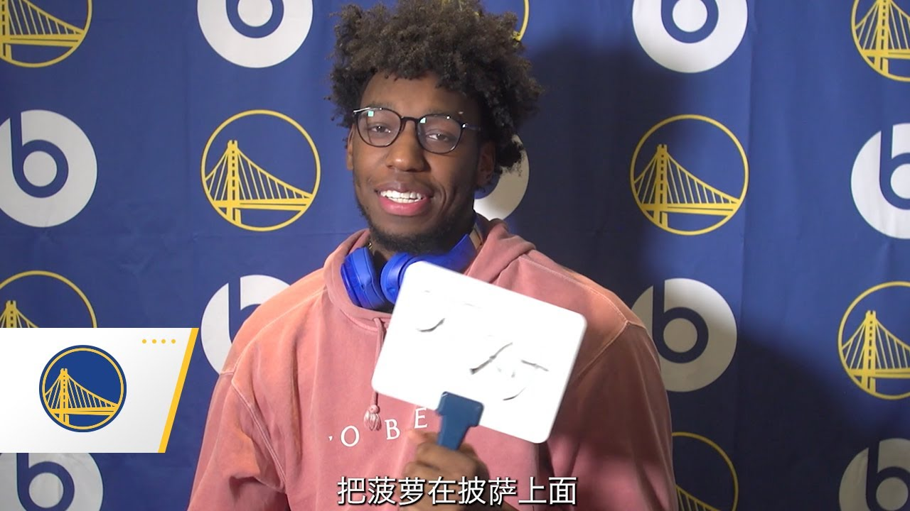 James Wiseman Tests His Mandarin & Answers Some Questions