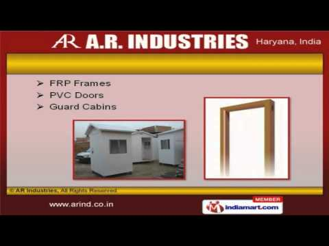 Mobile Toilet & FRP Products By AR Industries, Faridabad