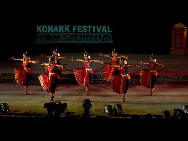 Chapu Mailika Alarippu - Konark Festival 2020 - Sridevi Nrithyalaya - Bharathanatyam Dance
