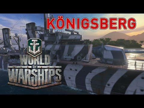 World of Warships - Königsberg Stops The Breakthrough