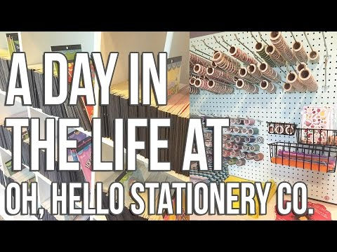 A Day in the Life at Oh, Hello Stationery Co.