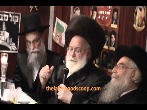Abish Brodt and Sons At Bais Elimelech Simchas Bais Hashoaiva