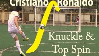 How to Shoot like Cristiano Ronaldo