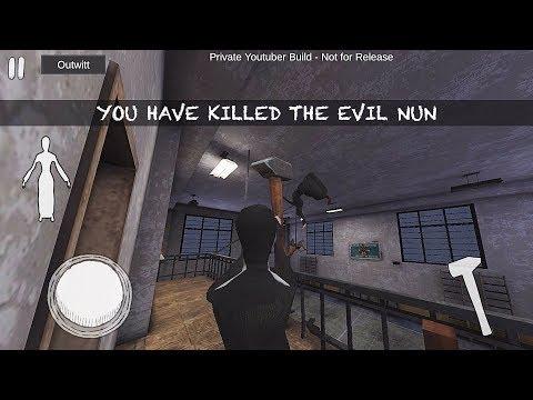 PLAYING AS THE NUN AND KILLING HER!!   Evil Nun
