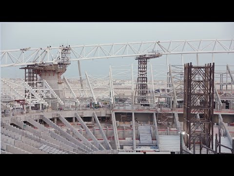 Al Wakrah Stadium Progress – November 2017