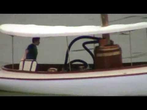 Elliott Bay Steam Launch Maiden Voyage
